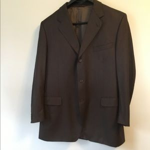 CANALI Brown Sport Coat Italy EU 56 / US 46 R Wool